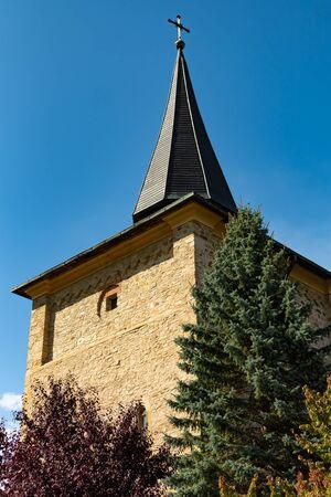 Gorgeous summer scene of Sucevita Monastery, a Spectacular morning view of Eastern Orthodox Church, Bukovina region, Romania, Europe Stock Photo