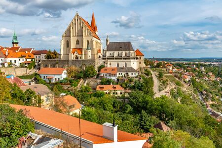 Beautiful Historic city Znojmo in the Czech Republic, Europe 版權商用圖片