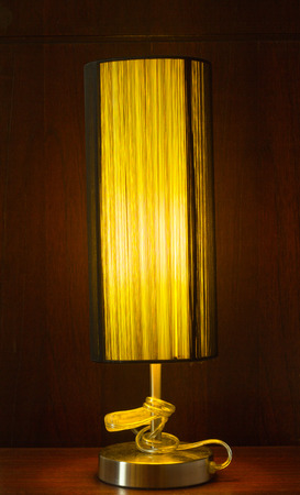 decorates: The lamp decorates