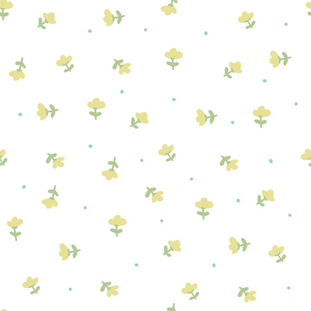 small flower: Delicate pattern in small flower. White background.