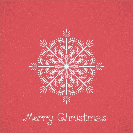 imperfections: christmas card. Vector illustration abstract Christmas Background Vintage Christmas Card Stock Photo