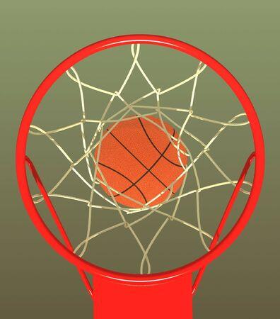 purpose: Basketball. Hit in purpose.