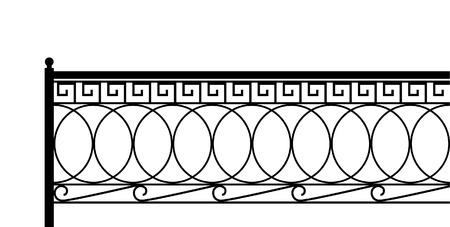 Classical fence. Seamless pattern.