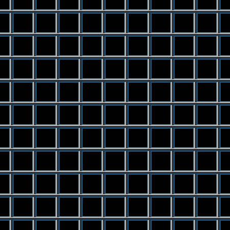 durable: Metal grid. Seamless pattern.