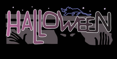 Halloween. Invitation to party. Vector
