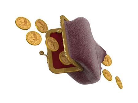 3D concepto de pérdidas financieras. Foto de archivo - 4971432