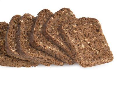 Sliced Grain Bread Stock Photo