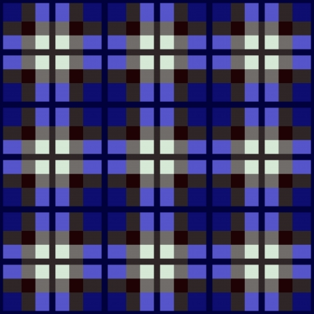 fabric swatch: seamless fabric swatch of classic tartan Illustration