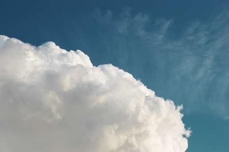 Cumulus сloud in blue sky Stock Photo - 14398451