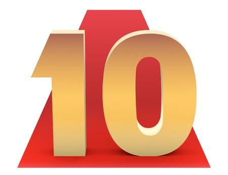 Golden Top 10 on Red Carpet