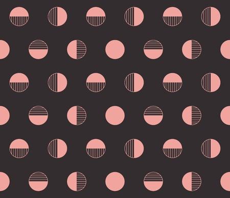 brown: Retro seamless vector background.