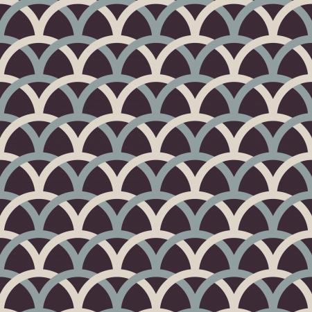 Retro interlacing seamless pattern  Vector background