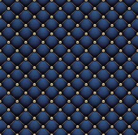 Deep blue velvet with pearl grid  Seamless background   Stock Photo