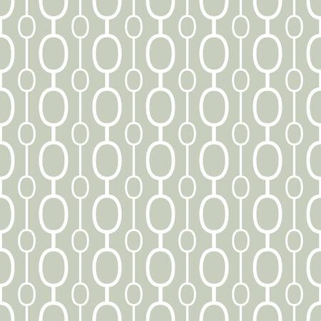 Retro geometric background  Seamless vector pattern   Illustration