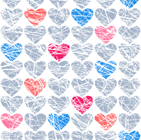Vector seamless background for Valentines day, birthday, wedding, new years eve and etc.