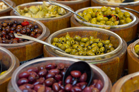 antipasti of olives
