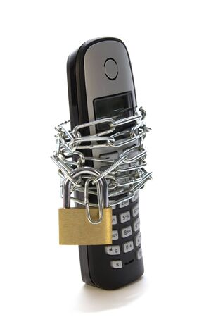 protected mobile Stock Photo - 12291379