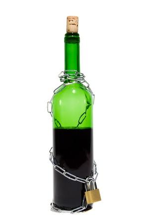dependent: bottle of wine captured