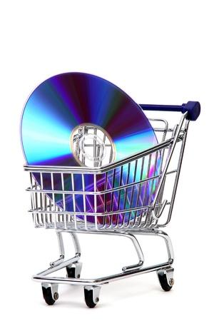 Software buying Stock Photo