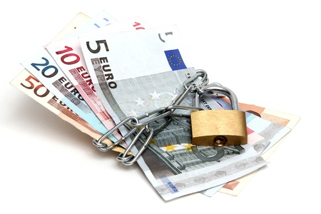 Protected currency Stock Photo