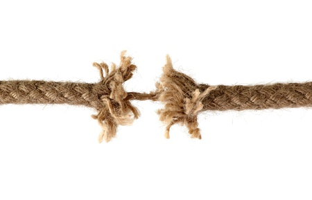 Discerped rope