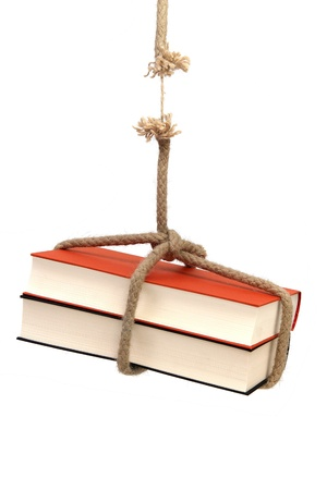 crisis of education - book on rope