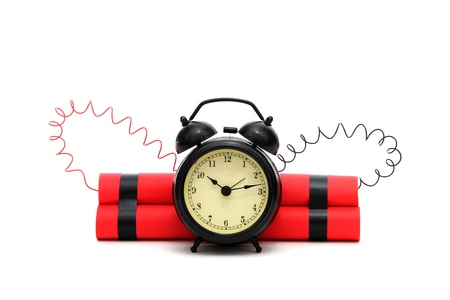 Time bomb Stock Photo - 12291354