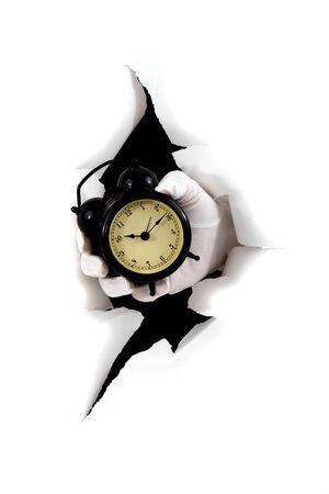 Time leakage Stock Photo - 12291359