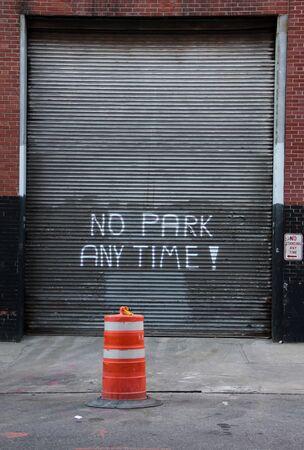 no park at any time  photo