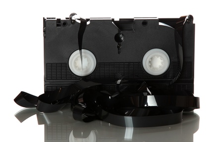 videotape: damaged videotape