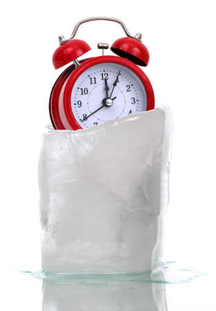 captured time in ice Stock Photo - 14948357