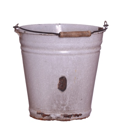 old rusty bucket photo