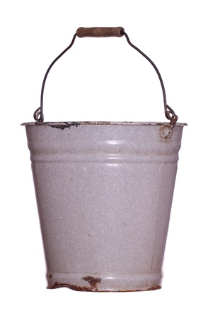 old rustic bucket photo