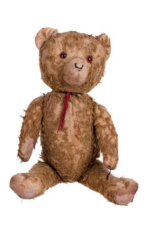 very old teddybear Stock Photo