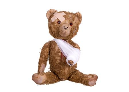 diseased: diseased teddybear