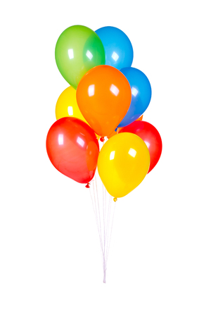 lacet: lot of colorful balloons