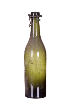 very old dusty bottle Stock Photo - 25820943