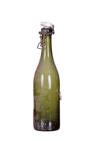 very old dusty bottle Stock Photo - 25821258