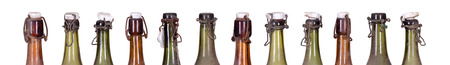 concept very old dusty bottles Stock Photo - 25821278