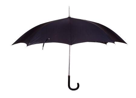old black umbrella photo