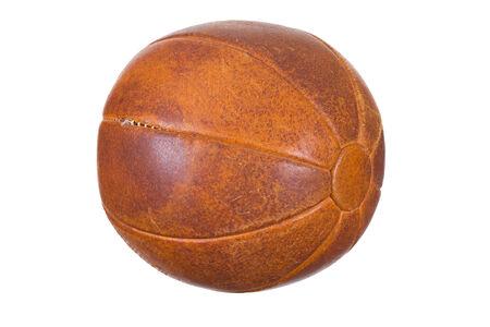 sehr alte Medizinball