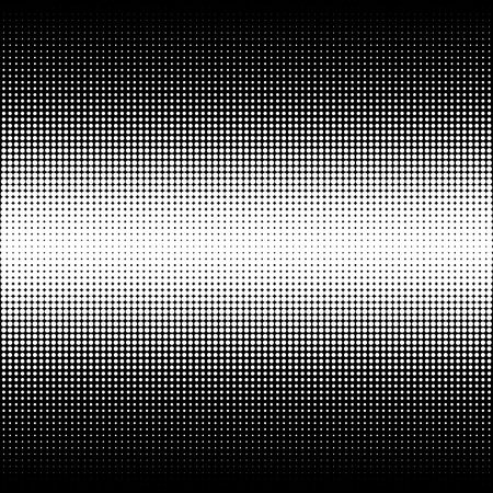 Abstract halftone. Black dots on black background. Halftone background. Vector halftone dots. halftone on white background. Abstract background. Illusztráció