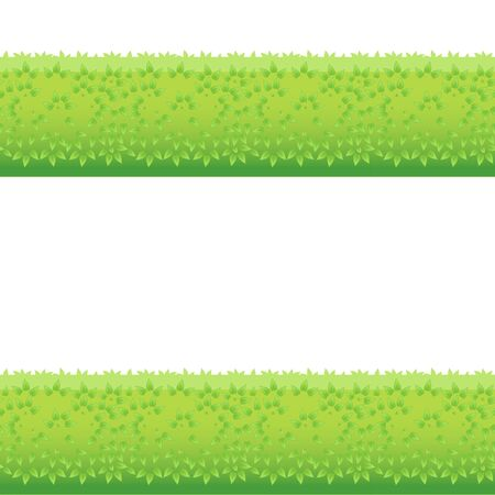 green concept: Backgrounds Of Green Grass. Isolated On White Background. Vector Illustration. Cartoon design elements for decorated. Eps 8 Illustration
