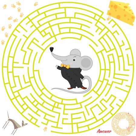 Maze vector Ilustrace