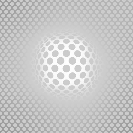 rendition: Golf background. Realistic rendition of golf ball texture. Golf texture background