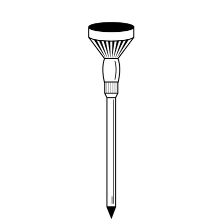 golf tee: Golf tees. Vector. Golf tee illustration of engraving style. On isolated background