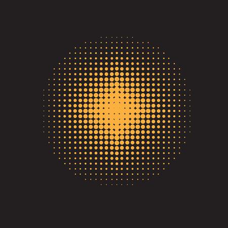halftone pattern: Halftone illustrator. Halftone dots.halftone effect. Halftone pattern. Vector halftone dots. Color dots on black background. Vector Halftone Texture Illustration