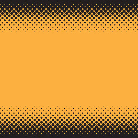 Halftone illustrator. Halftone dots.halftone effect. Halftone pattern. Vector halftone dots. Black dots on Color background. Vector Halftone Texture