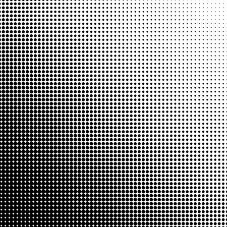 Halbton-Illustrator. Rasterpunkte. Halbton-Effekt. Halbton-Muster. Vector Rasterpunkte. Punkte auf Hintergrund. Vektor Halbton-Textur Standard-Bild - 42485786
