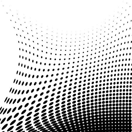 Halftone illustrator. Halftone dots. Halftone effect. Halftone pattern. Vector halftone dots. Dots on  background. Vector Halftone Texture Ilustrace